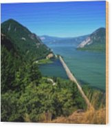 The Columbia Gorge National Scenic Area Wood Print