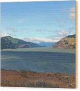 The Columbia River Wood Print