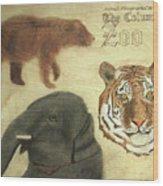 The Columbus, Oh Zoo Wood Print