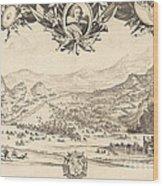 The Combat Of Avigliana Wood Print
