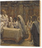 The Communion Of The Apostles Wood Print