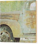 The Company Truck Wood Print