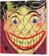 The Coney Smile Wood Print