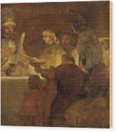 The Conspiracy Of The Batavians Under Claudius Civilis Wood Print