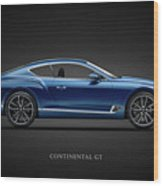 The Continental Gt Wood Print