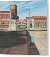 The Convention Hall  Asbury Park  Wood Print