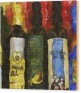 The Cook's Elixirs Wood Print