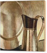 The Copper Pitcher Wood Print