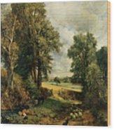 The Cornfield Wood Print