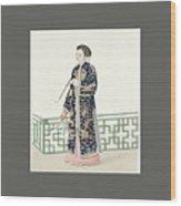 The Costume Of China Wood Print