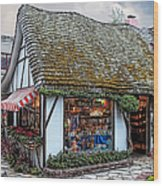 The Cottage Of Sweets - Carmel Wood Print
