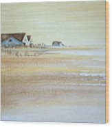 the cottages on BH Island Wood Print