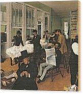 The Cotton Exchange Wood Print