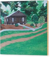 The Country Wood Print