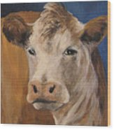 The Cow Wood Print