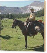 The Cowboy #5 Wood Print