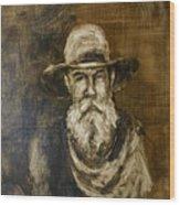 The Cowboy  Wood Print