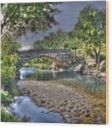 The Crabb Creek Bridge Wood Print