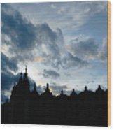 The Crakow Cloth Hall  Wood Print