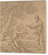 The Creation Of Eve  Wood Print