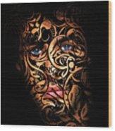 The Creation Of Man Wood Print