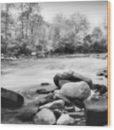 The Creek Wood Print
