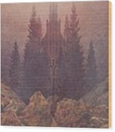 The Cross In The Mountains 1812  By Caspar David Friedrich 1774-1840 Wood Print