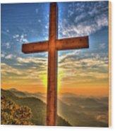 The Cross The Choice Pretty Place Chapel Greenville South Carolina Art Wood Print