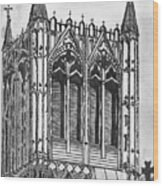 The Crossing Tower Wood Print
