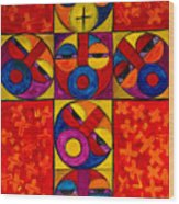 The Crucifix Wood Print
