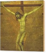 The Crucifixion 1311 Wood Print