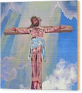 The Crucifixion Day Wood Print