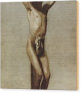 The Crucifixion Wood Print