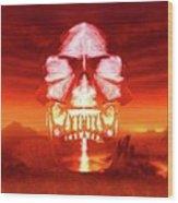 The Crystal Skull Wood Print