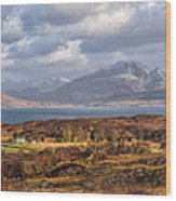 The Cuillin Wood Print
