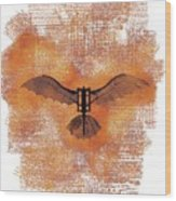 The Da Vinci Flying Machine Wood Print
