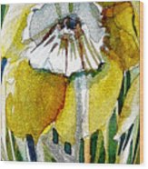 The Daffodil Wood Print