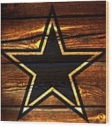 The Dallas Cowboys 3a Wood Print