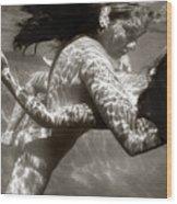 The Dance Of Surrender Wood Print