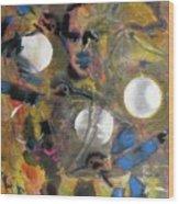 The Dance Of The Hummingbird Wood Print