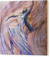 The Dance Wood Print