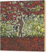 The Dancer Series 5 Wood Print