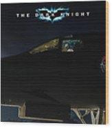 The Dark Knight 2 Wood Print