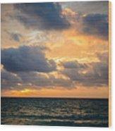 The Dark Sea Wood Print
