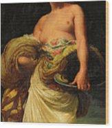 The Daughter Of Herodias, Salome Wood Print