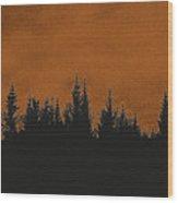 The Dawn Wood Print