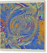 The Dawn Of Hope Wood Print