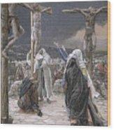 The Death Of Jesus Wood Print