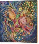 The Deep Blue Evening Wood Print