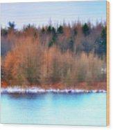 The Deep Forbidden Lake Wood Print